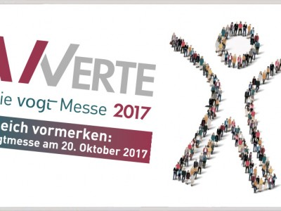 Save the date: vogtmesse 2017
