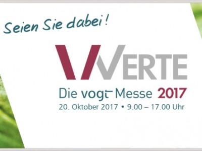 """Jetzt zur """"vogtmesse – Werte 2017″ anmelden!"""